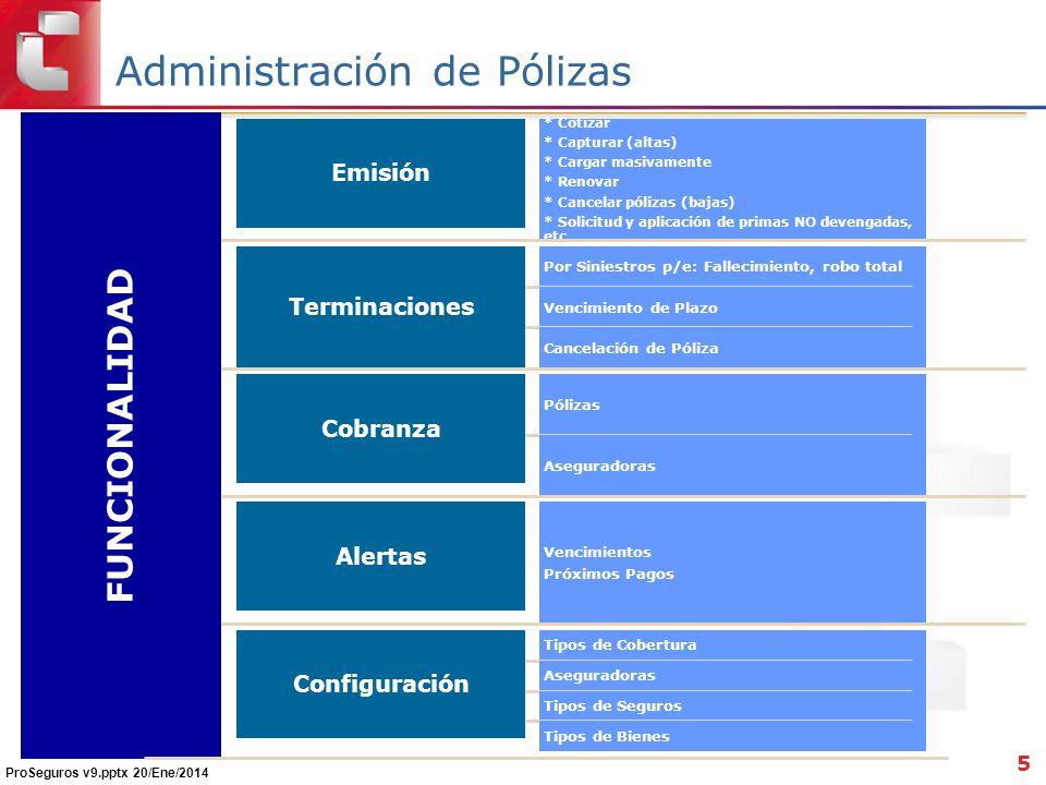 Administración de Pólizas