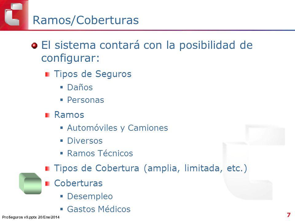 ProSeguros v9.pptx 20/Ene/2014