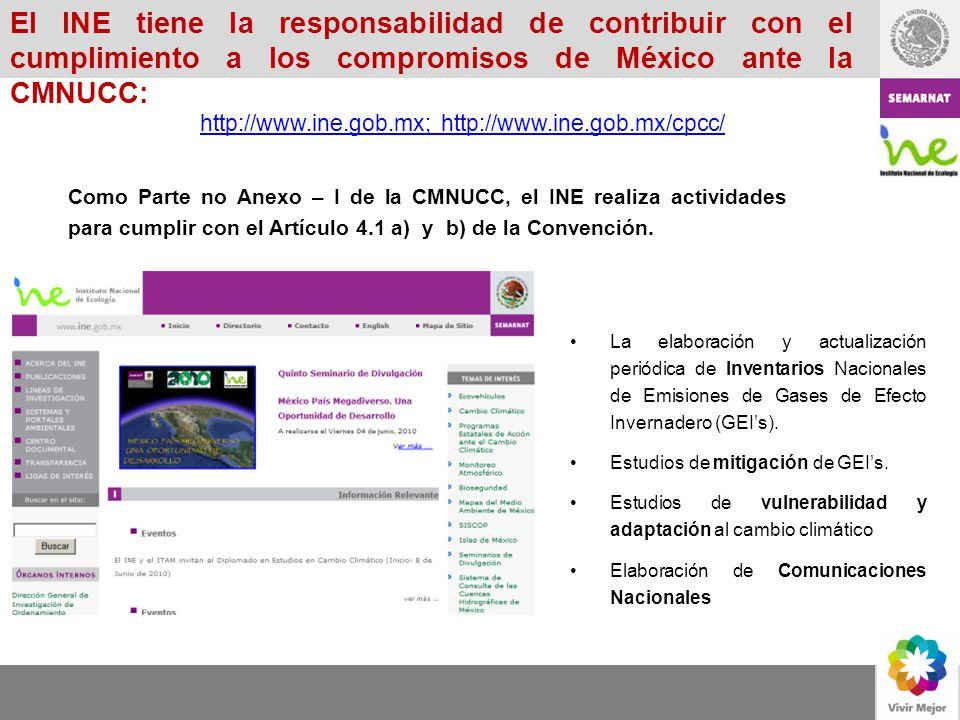 El INE tiene la responsabilidad de contribuir con el cumplimiento a los compromisos de México ante la CMNUCC: