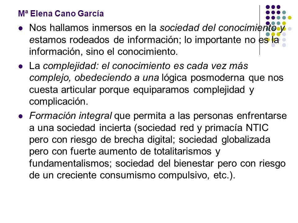 Mª Elena Cano García