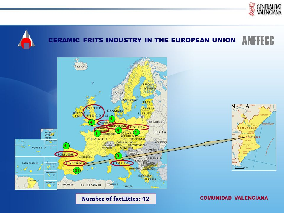 CERAMIC FRITS INDUSTRY IN THE EUROPEAN UNION