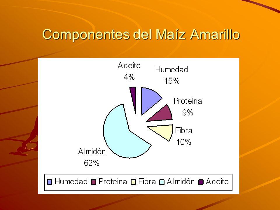 Componentes del Maíz Amarillo