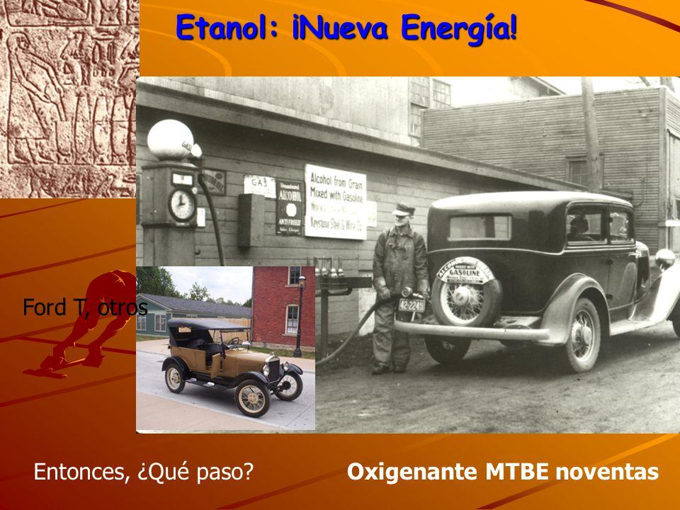 Etanol: ¡Nueva Energía!