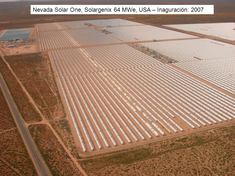 Nevada Solar One, Solargenix 64 MWe, USA – Inaguración: 2007