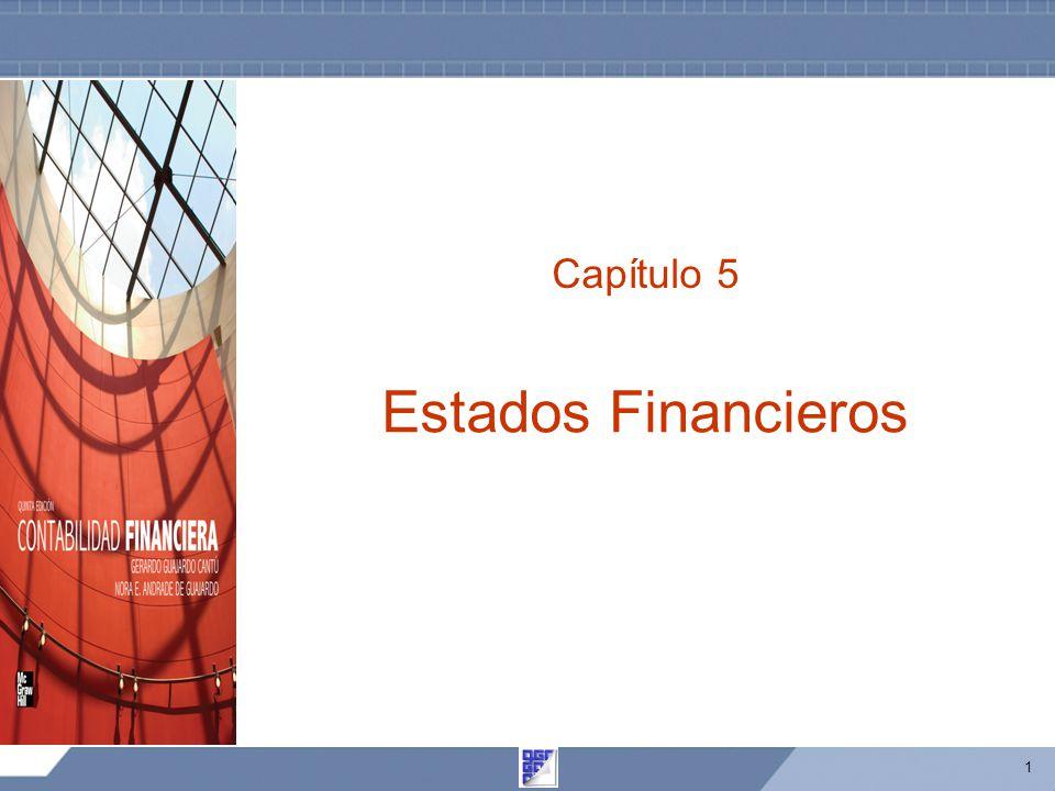 Capítulo 5 Estados Financieros