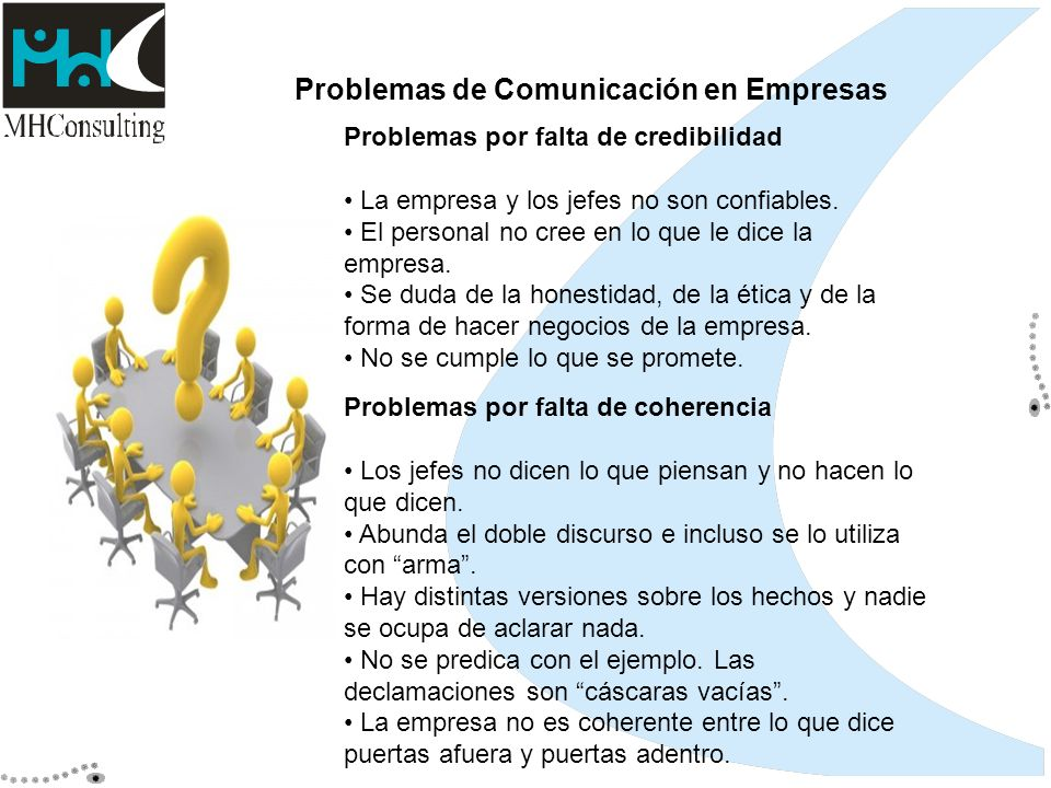 Problemas de Comunicación en Empresas