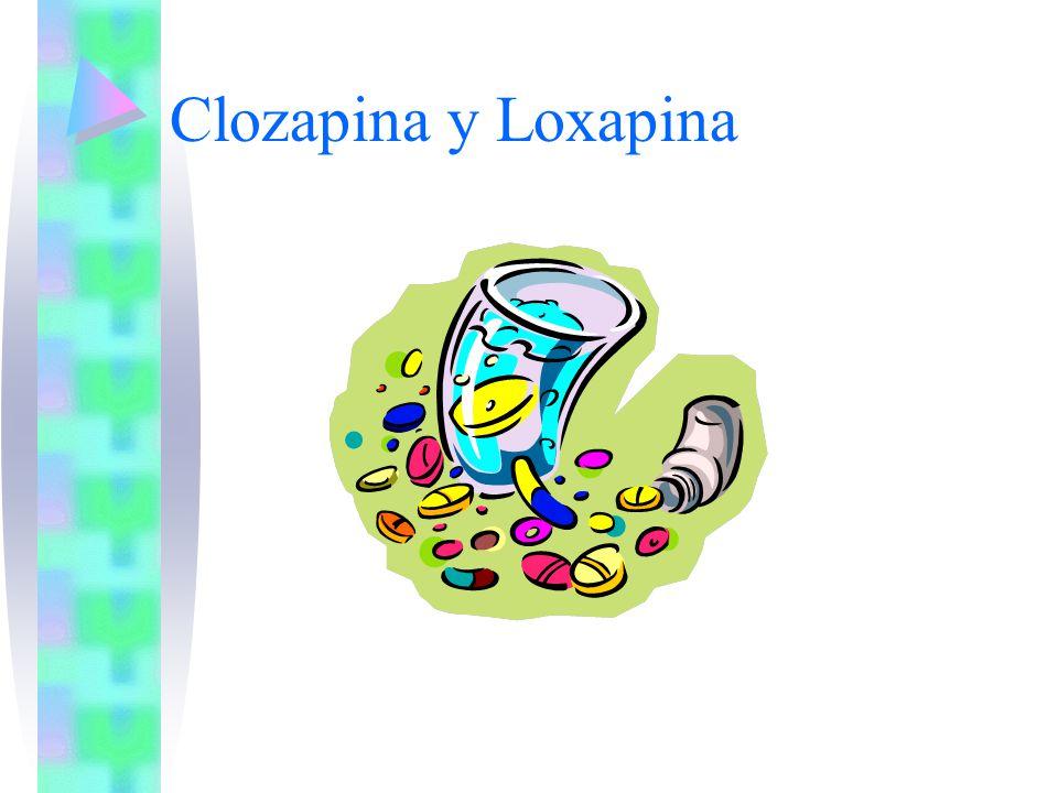 Clozapina y Loxapina