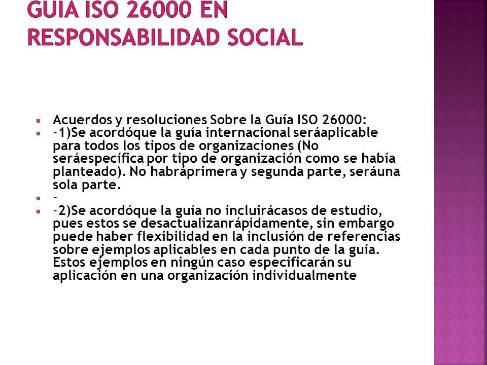 GUIA ISO 26000 en Responsabilidad Social