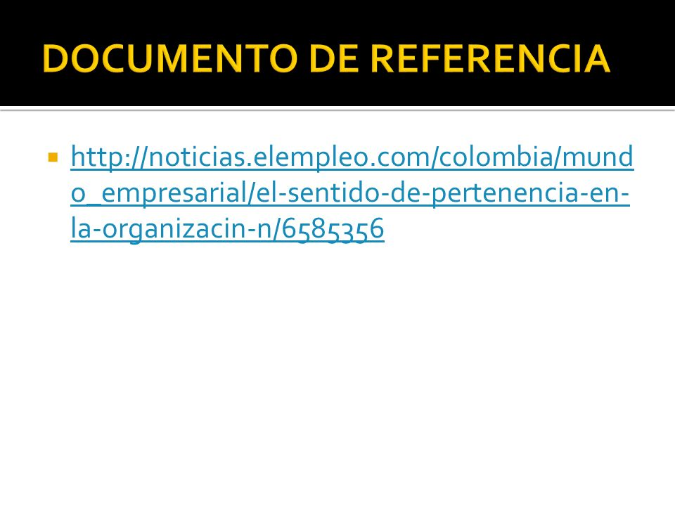 DOCUMENTO DE REFERENCIA