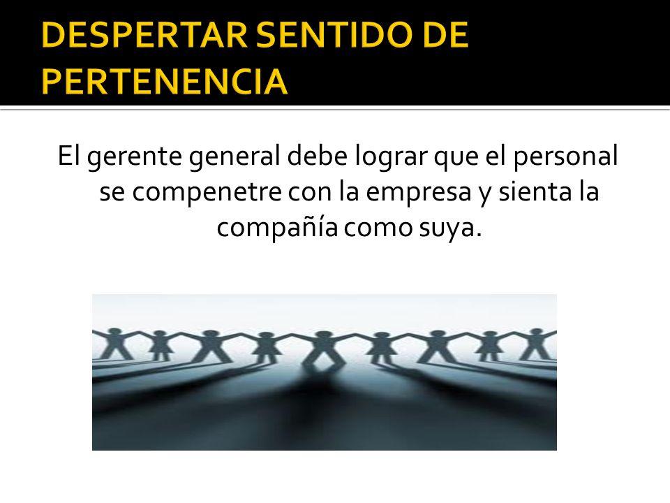 DESPERTAR SENTIDO DE PERTENENCIA