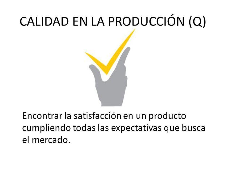 CALIDAD EN LA PRODUCCIÓN (Q)