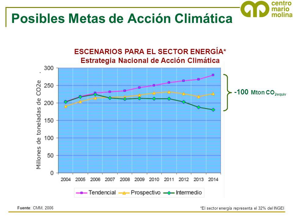 Posibles Metas de Acción Climática