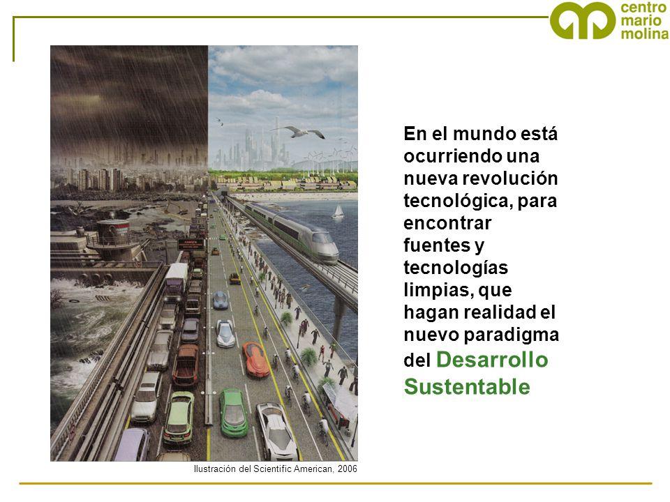 En el mundo está ocurriendo una nueva revolución tecnológica, para encontrar fuentes y tecnologías limpias, que hagan realidad el nuevo paradigma del Desarrollo Sustentable