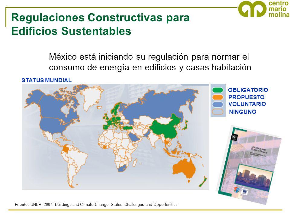 Regulaciones Constructivas para Edificios Sustentables
