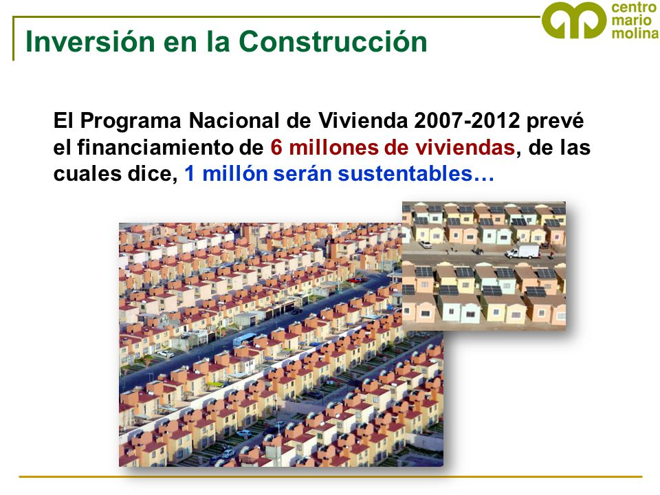 Inversión en la Construcción