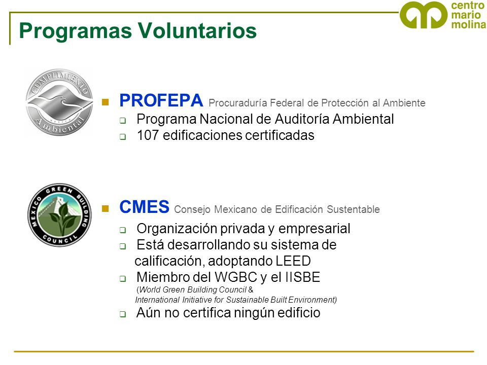 Programas Voluntarios