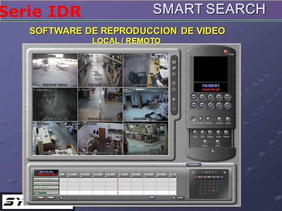 SOFTWARE DE REPRODUCCION DE VIDEO