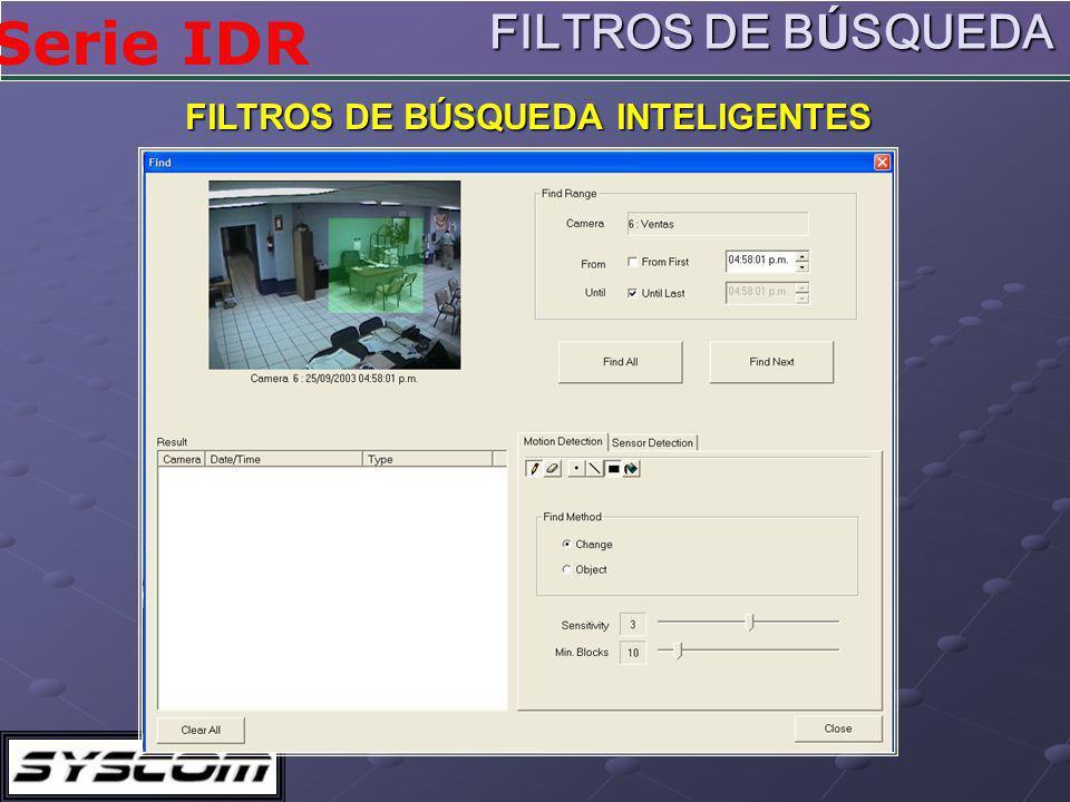 FILTROS DE BÚSQUEDA INTELIGENTES