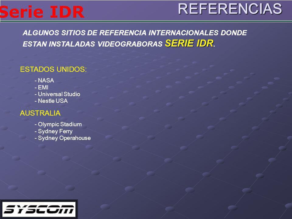 REFERENCIAS ALGUNOS SITIOS DE REFERENCIA INTERNACIONALES DONDE