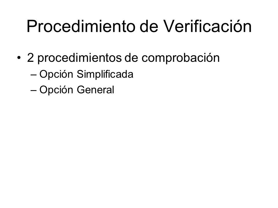 Procedimiento de Verificación