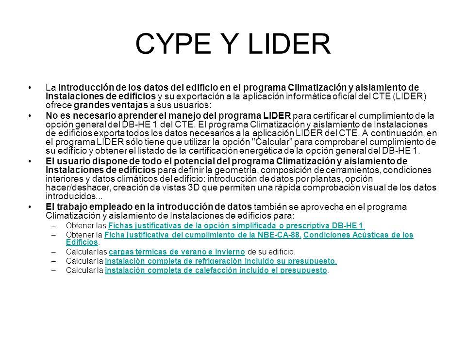 CYPE Y LIDER
