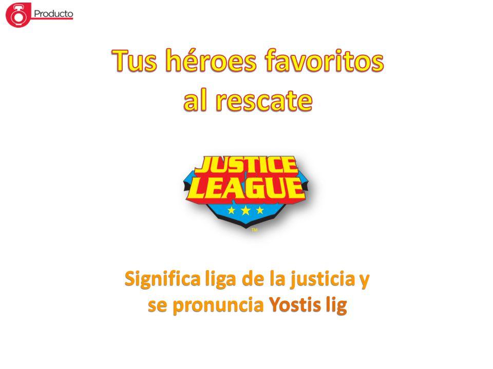 Tus héroes favoritos al rescate