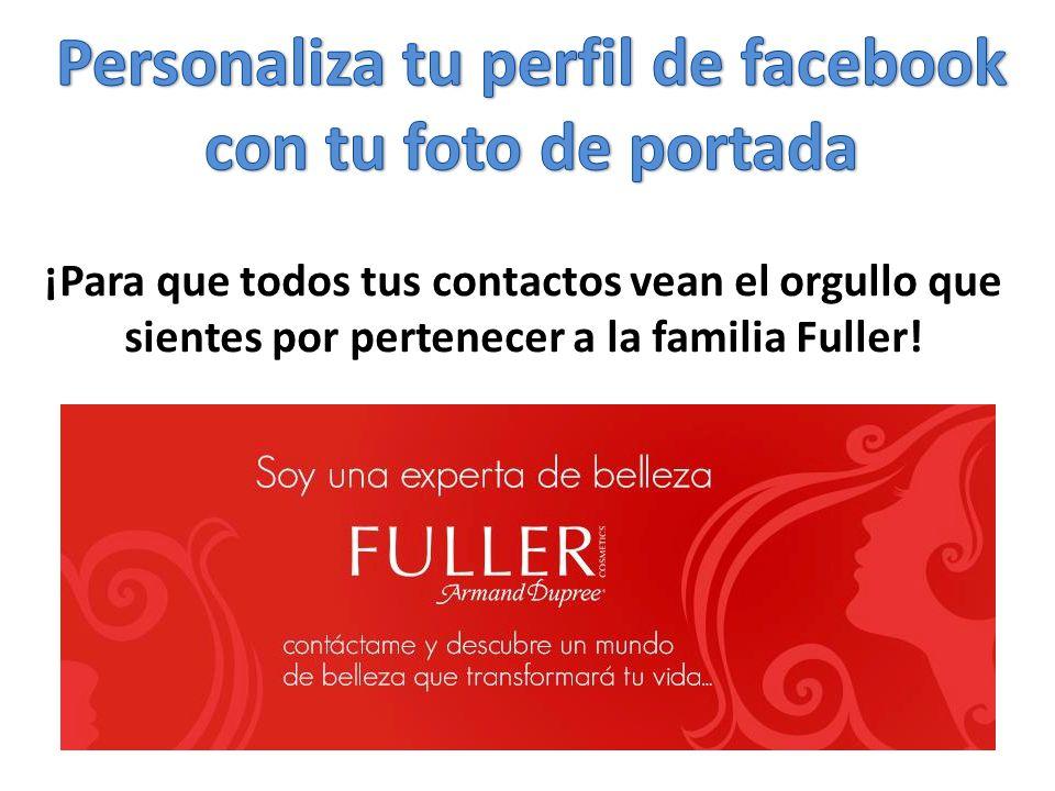 Personaliza tu perfil de facebook con tu foto de portada