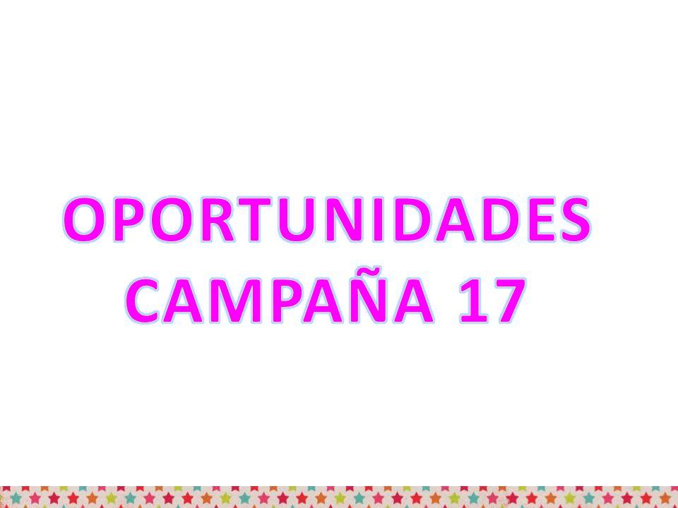 OPORTUNIDADES CAMPAÑA 17