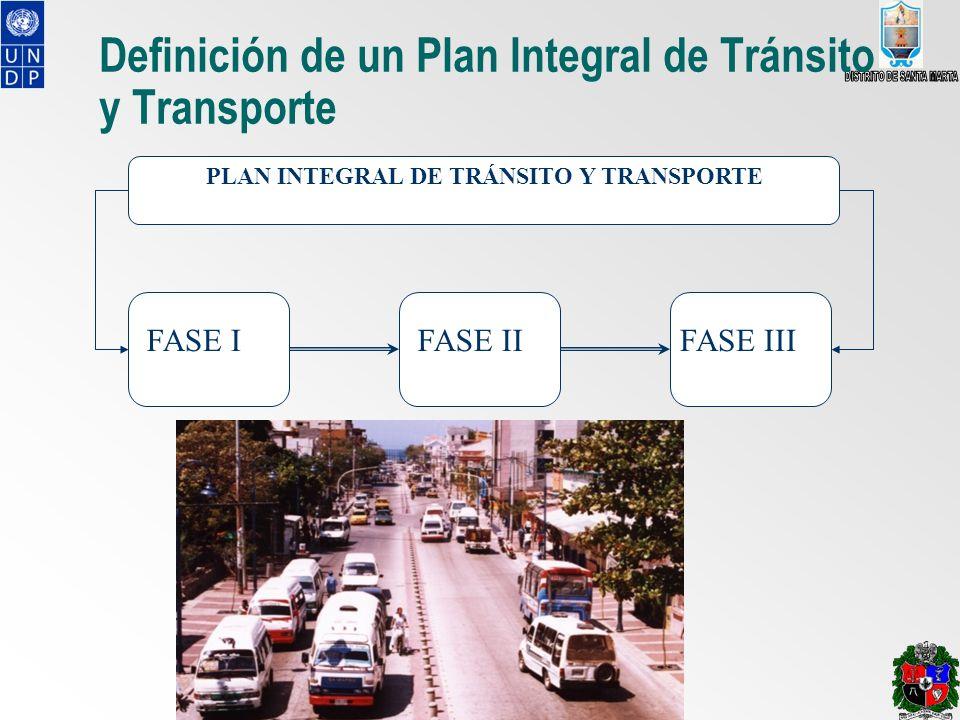 Definición de un Plan Integral de Tránsito y Transporte