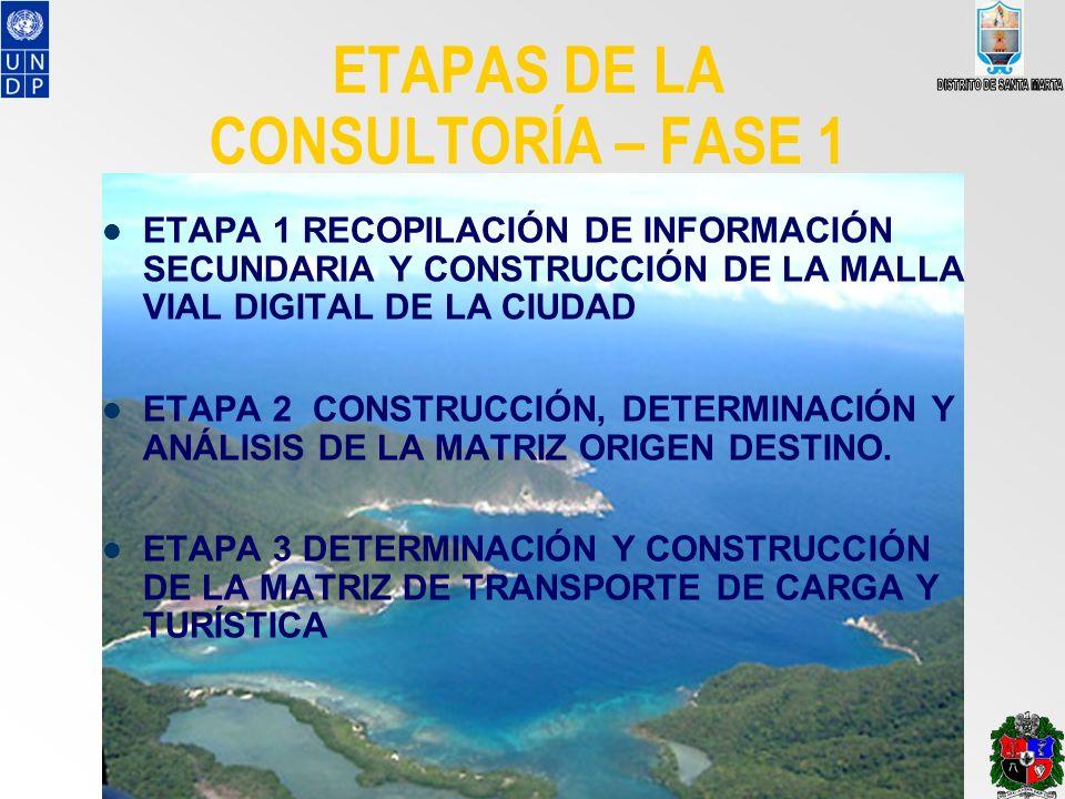 ETAPAS DE LA CONSULTORÍA – FASE 1