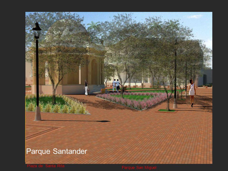 Parque Santander Plaza de Bolívar Plaza de la Catedral