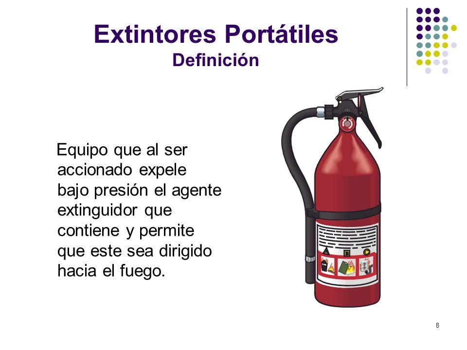 Extintores Portátiles Definición