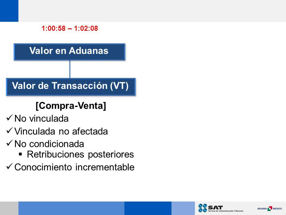 Valor de Transacción (VT)