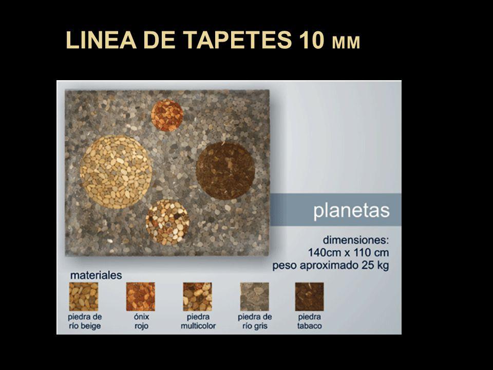 LINEA DE TAPETES 10 MM