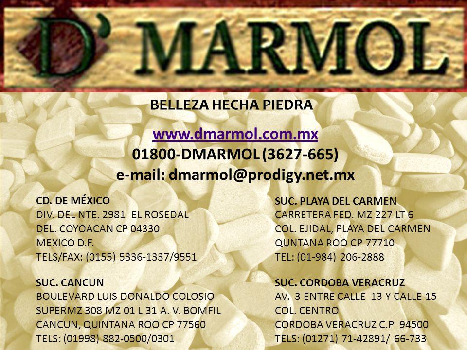 e-mail: dmarmol@prodigy.net.mx
