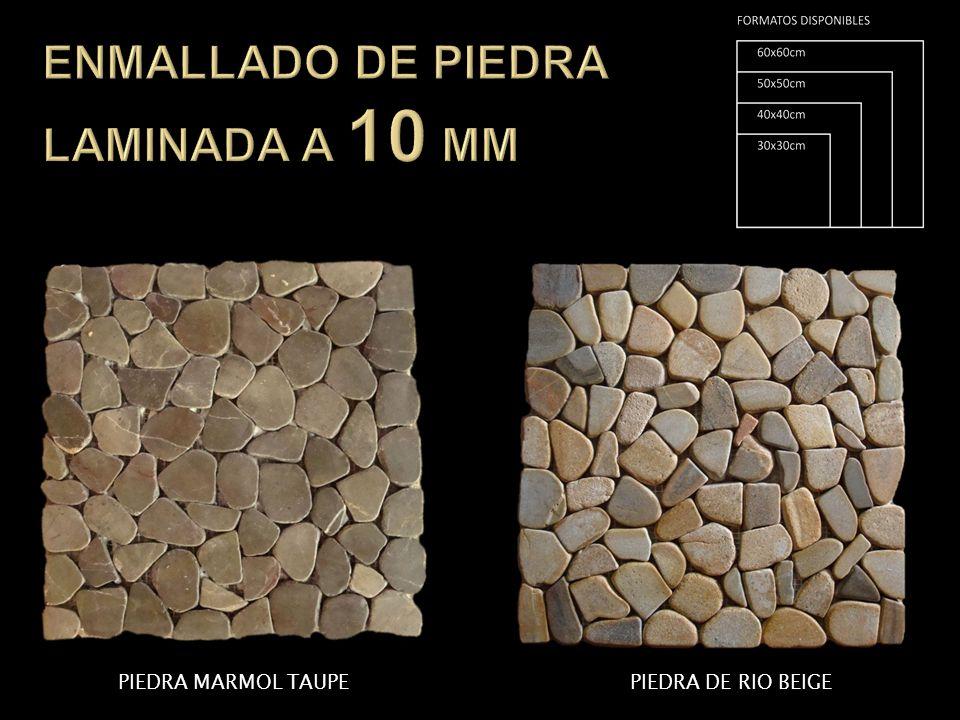 ENMALLADO DE PIEDRA LAMINADA A 10 MM