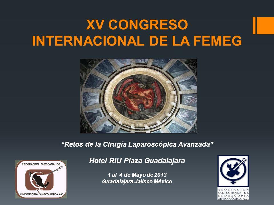 XV CONGRESO INTERNACIONAL DE LA FEMEG