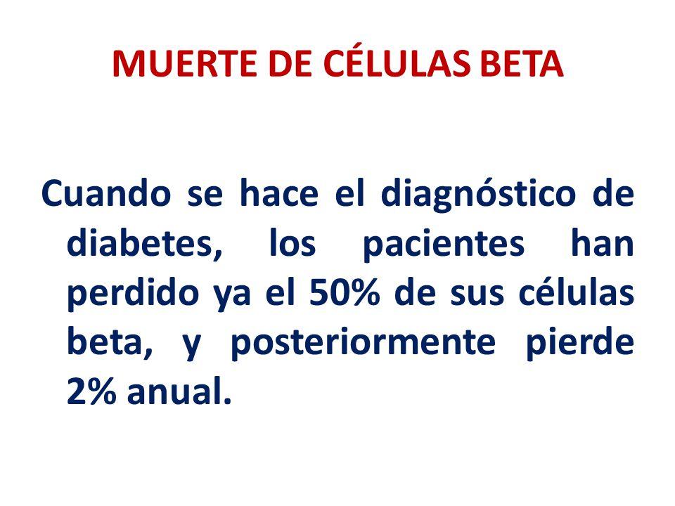 MUERTE DE CÉLULAS BETA