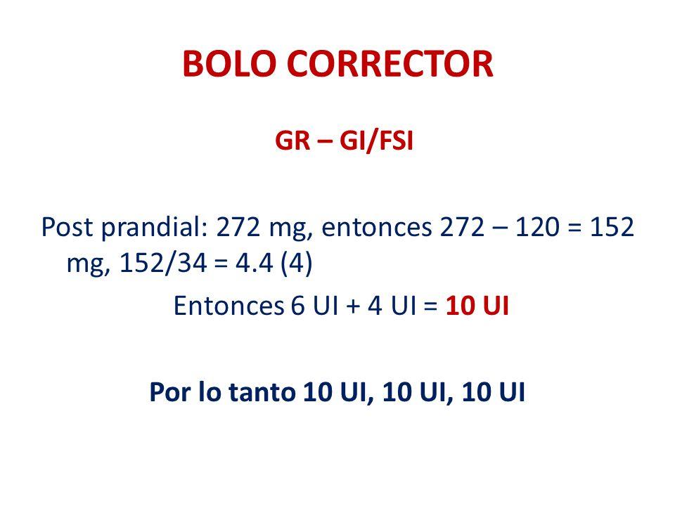 BOLO CORRECTOR