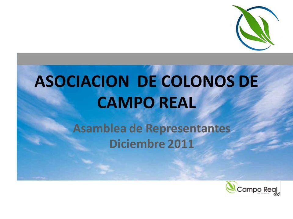 ASOCIACION DE COLONOS DE CAMPO REAL