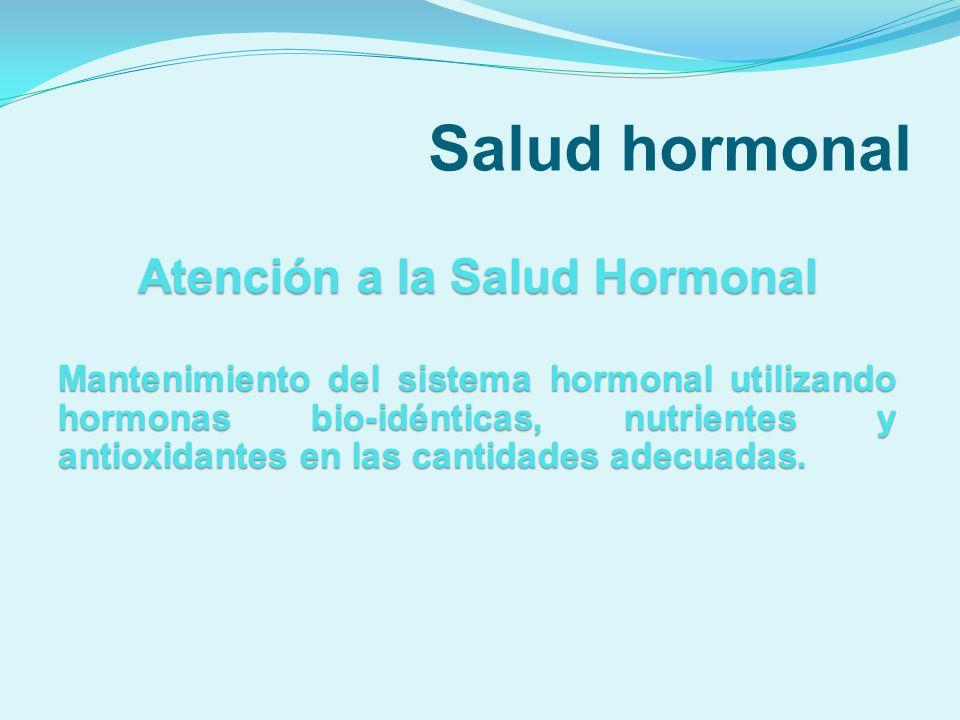 Atención a la Salud Hormonal