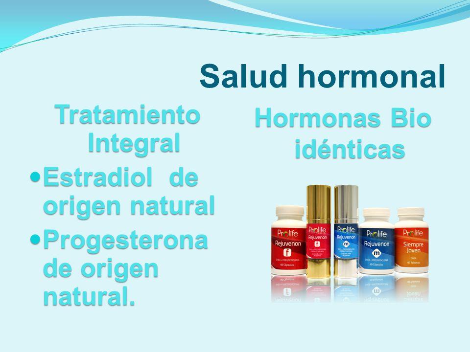 Hormonas Bio idénticas