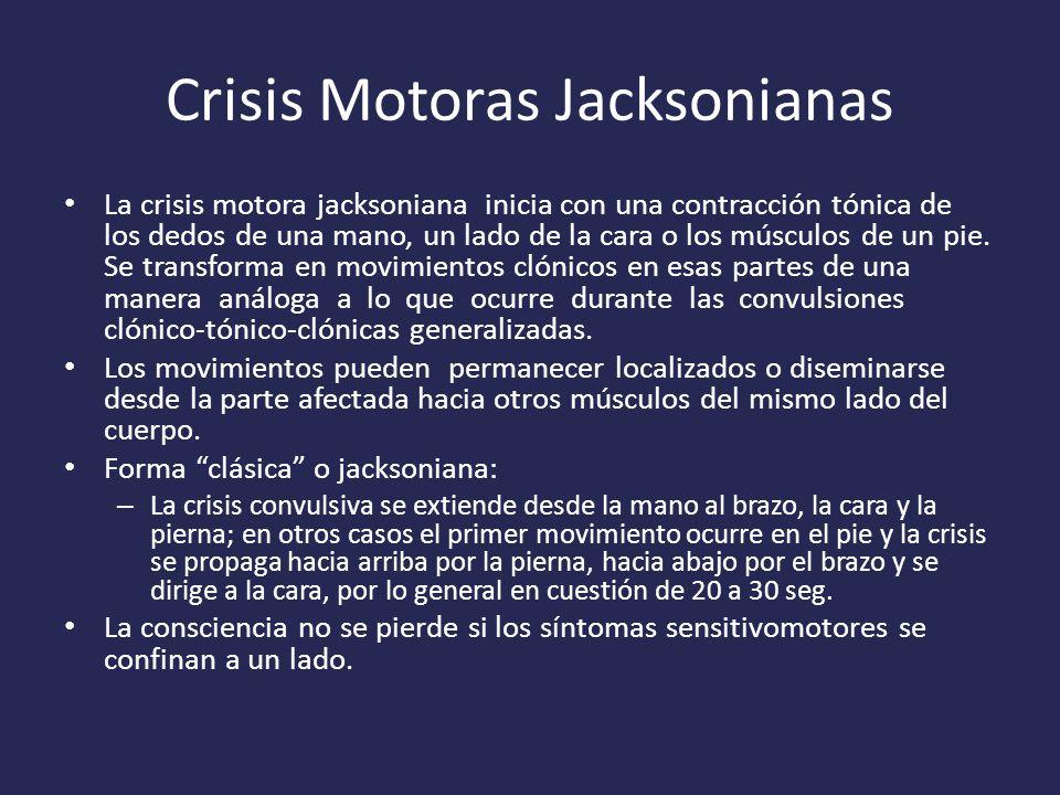 Crisis Motoras Jacksonianas