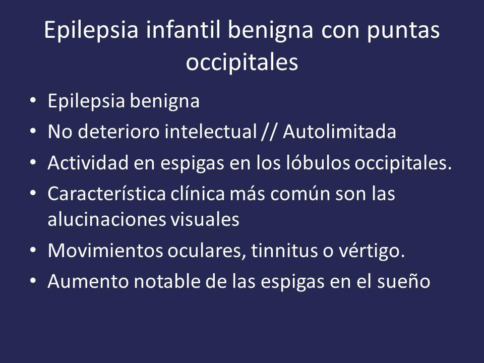 Epilepsia infantil benigna con puntas occipitales