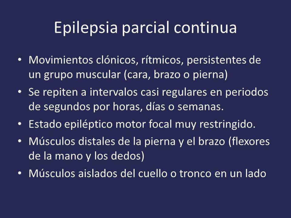 Epilepsia parcial continua