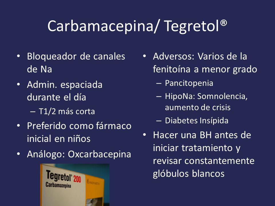 Carbamacepina/ Tegretol®