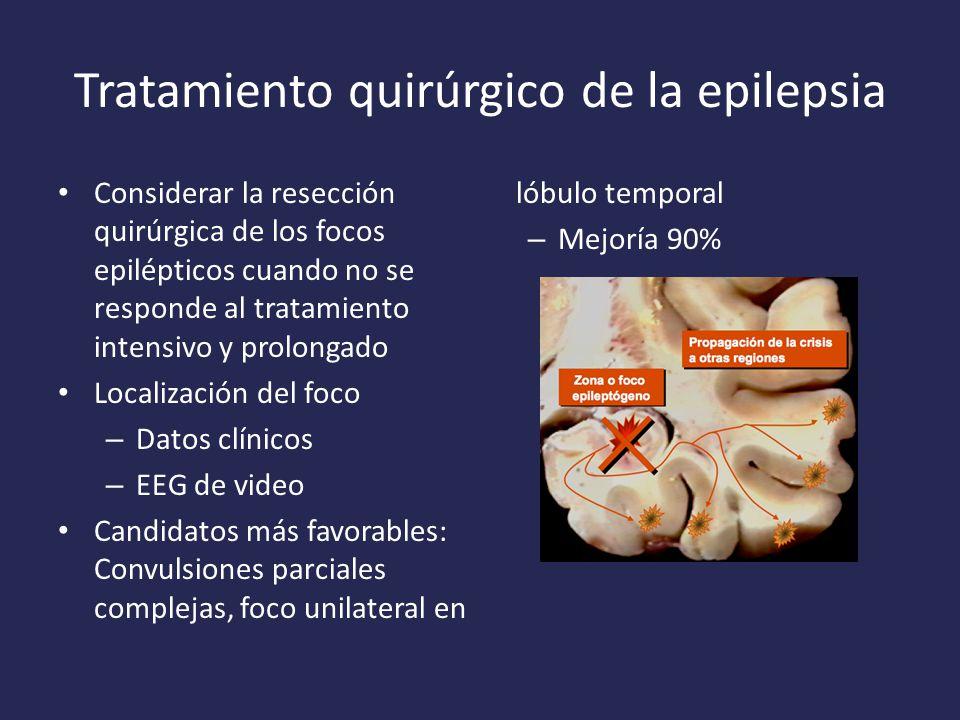Tratamiento quirúrgico de la epilepsia
