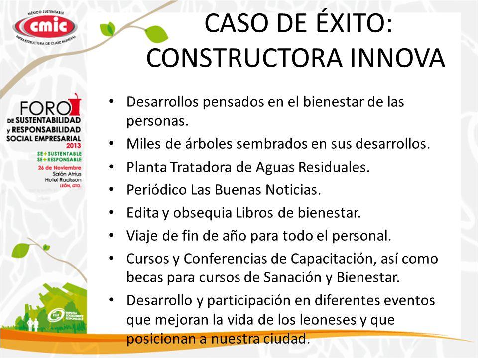 CASO DE ÉXITO: CONSTRUCTORA INNOVA