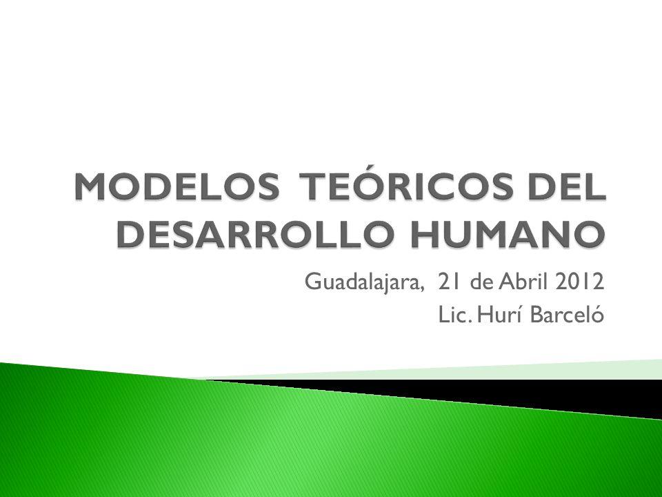 MODELOS TEÓRICOS DEL DESARROLLO HUMANO