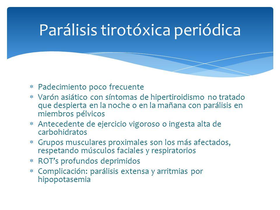 Parálisis tirotóxica periódica